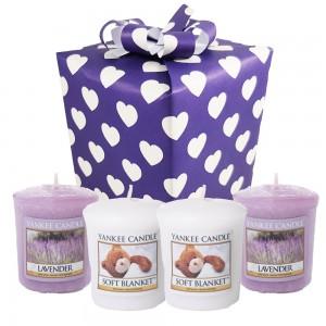"Set Cadou ""Lavender Hug"", Yankee Candle"