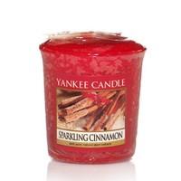 Lumanare Parfumata Votive Sparkling Cinnamon, Yankee Candle