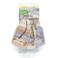 Odorizant Auto Car Jar Variety Pack 2+1 Gratuit Seacost Highway, Yankee Candle