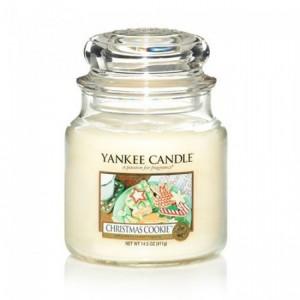Lumanare Parfumata Borcan Mediu Christmas Cookie, Yankee Candle