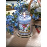 Lumanare Parfumata Borcan Mare Garden Sweet Pea, Yankee Candle