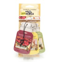 Odorizant Auto Car Jar Variety Pack 2+1 Gratuit Afternoon Picnic, Yankee Candle