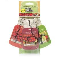 Odorizant Auto Car Jar Variety Pack 2+1 Gratuit Fruit-A-Licious, Yankee Candle