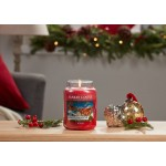 Lumanare Parfumata Borcan Mediu Christmas Eve, Yankee Candle