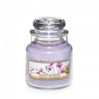 Lumanare Parfumata Borcan Mic Honey Blossom, Yankee Candle