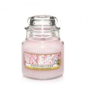 Lumanare Parfumata Borcan Mic Snowflake Cookie, Yankee Candle