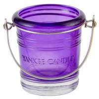 "Suport Lumanare Votive ""Purple bucket"", Yankee Candle"