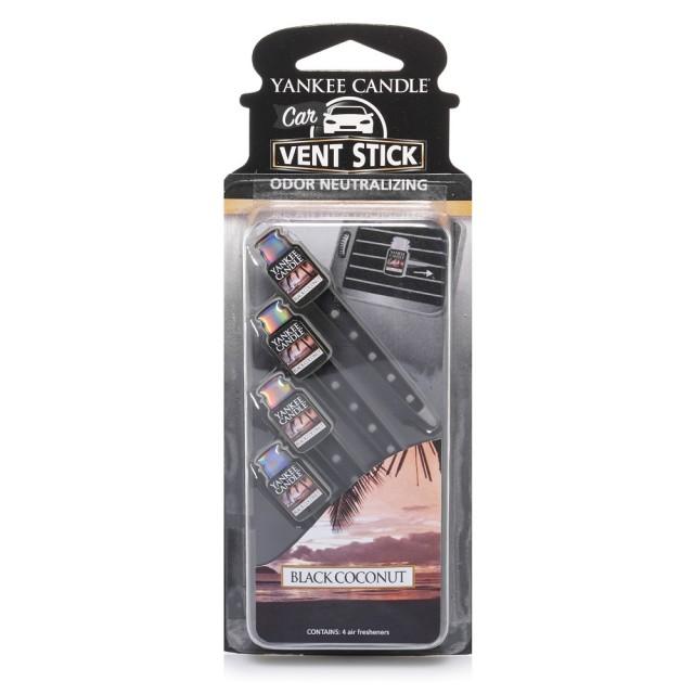 Odorizant Auto Vent Stick Black Coconut, Yankee Candle
