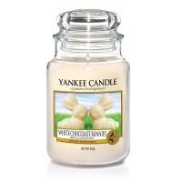 Lumanare Parfumata Borcan Mare White Chocolate Bunnies - EASTER 2018, Yankee Candle