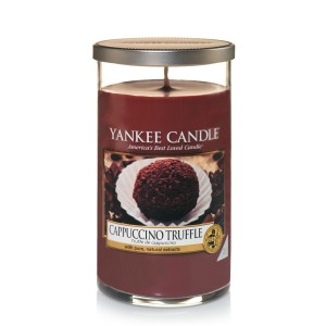 Lumanare Parfumata Pahar Mediu Cappuccino Trufle, Yankee Candle