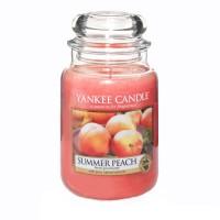 Lumanare Parfumata Borcan Mare Summer Peach, Yankee Candle