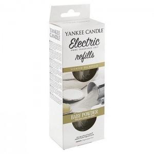 Set 2 rezerve electrice Baby Powder, Yankee Candle