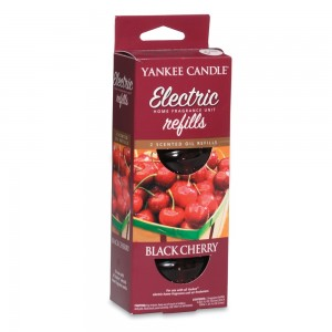 Set 2 rezerve electrice Black Cherry, Yankee Candle