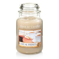 Lumanare Parfumata Borcan Mare Café al Fresco -EDITIE LIMITATA, Yankee Candle