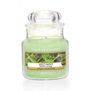 Lumanare Parfumata Borcan Mic Wild Mint, Yankee Candle