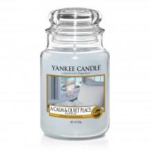 Lumanare Parfumata Borcan Mare A Calm & Quiet Place - SPRING 2018, Yankee Candle