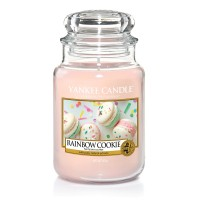 Lumanare Parfumata Borcan Mare Rainbow Cookie - SPRING 2018, Yankee Candle