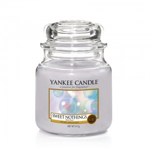 Lumanare Parfumata Borcan Mediu Sweet Nothings - SPRING 2018, Yankee Candle