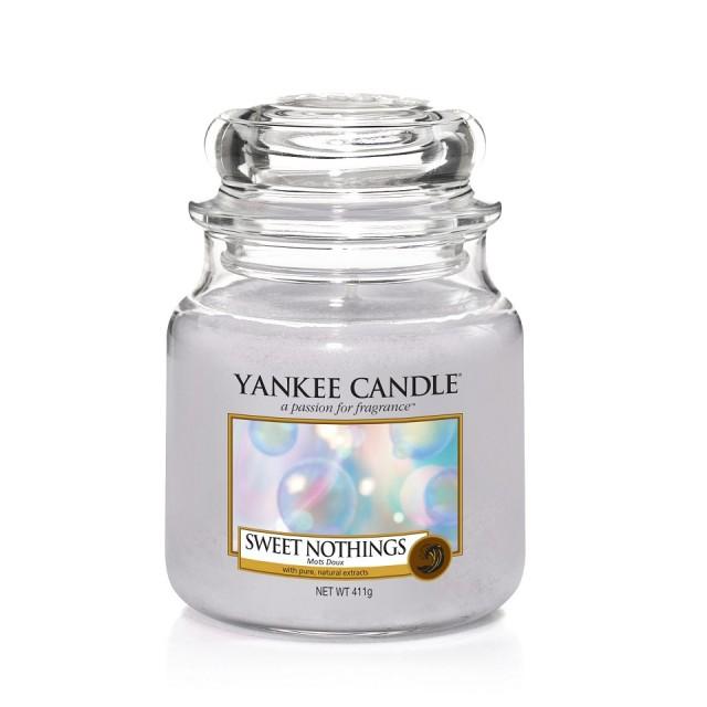 Lumanare Parfumata Borcan Mediu Sweet Nothings, Yankee Candle