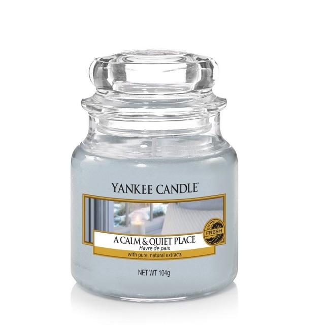 Lumanare Parfumata Borcan Mic A Calm & Quiet Place, Yankee Candle