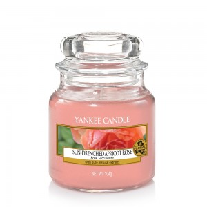 Lumanare Parfumata Borcan Mic Sun Drenched Apricot Rose - SPRING 2018, Yankee Candle