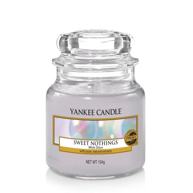 Lumanare Parfumata Borcan Mic Sweet Nothings, Yankee Candle