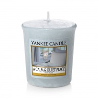 Lumanare Parfumata Votive A Calm & Quiet Place, Yankee Candle