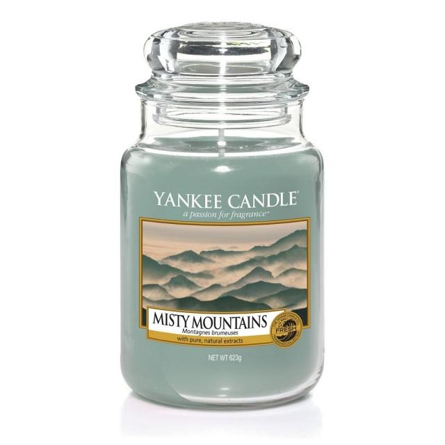 Lumanare Parfumata Borcan Mare Misty Mountains, Yankee Candle