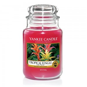 Lumanare Parfumata Borcan Mare Tropical Jungle - SUMMER 2018, Yankee Candle