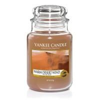 Lumanare Parfumata Borcan Mare Warm Desert Wind - SUMMER 2018, Yankee Candle