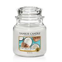Lumanare Parfumata Borcan Mediu Coconut Splash - SUMMER 2018, Yankee Candle