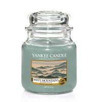 Lumanare Parfumata Borcan Mediu Misty Mountains - SUMMER 2018, Yankee Candle