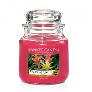 Lumanare Parfumata Borcan Mediu Tropical Jungle - SUMMER 2018, Yankee Candle