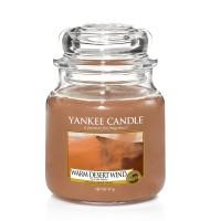 Lumanare Parfumata Borcan Mediu Warm Desert Wind - SUMMER 2018, Yankee Candle