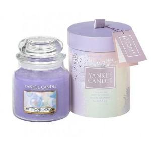 Set Cadou Lumanare Parfumata Borcan Mediu Sweet Nothings, Yankee Candle