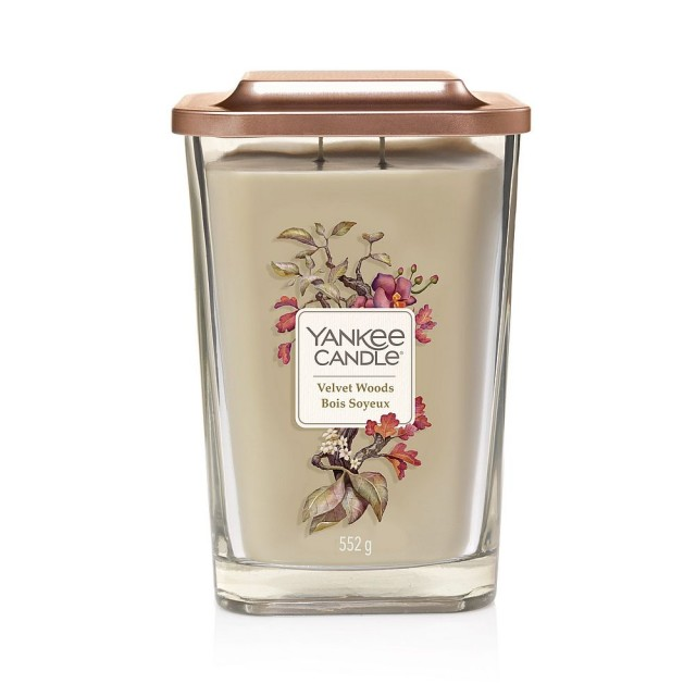 Lumanare Parfumata Elevation Collection Borcan Mare Velvet Woods, Yankee Candle