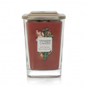 Lumanare Parfumata Elevation Collection Borcan Mare Sweet Orange Spice, Yankee Candle