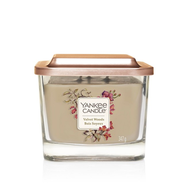 Lumanare Parfumata Elevation Collection Borcan Mediu Velvet Woods, Yankee Candle