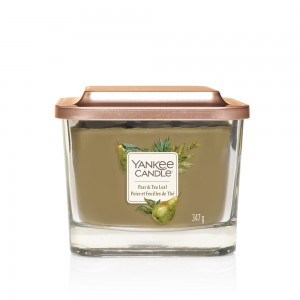 Lumanare Parfumata Elevation Collection Borcan Mediu Pear & Tea Leaf, Yankee Candle