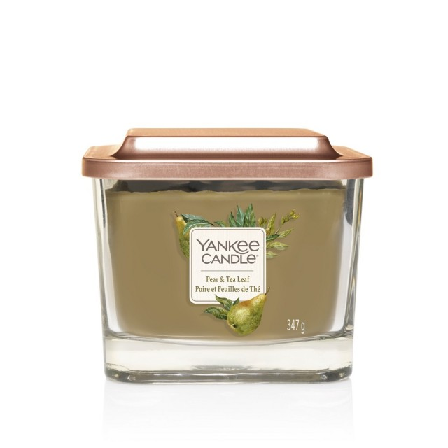 Lumanare Parfumata Elevation Collection Borcan Mediu Pear & Tea Leaf, Yankee Candle