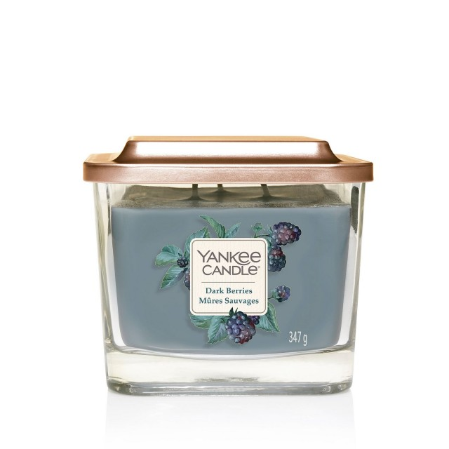 Lumanare Parfumata Elevation Collection Borcan Mediu Dark Berries, Yankee Candle