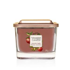 Lumanare Parfumata Elevation Collection Borcan Mediu Amaretto Apple, Yankee Candle