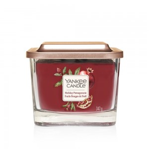 Lumanare Parfumata Elevation Collection Borcan Mediu Holiday Pomegranate, Yankee Candle