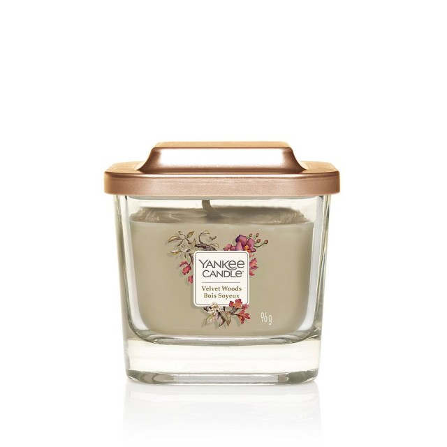 Lumanare Parfumata Elevation Collection Borcan Mic Velvet Woods, Yankee Candle