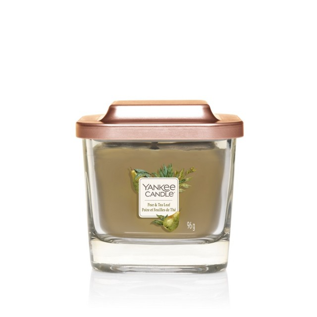 Lumanare Parfumata Elevation Collection Borcan Mic Pear & Tea Leaf, Yankee Candle