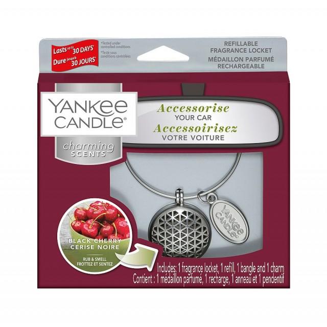 Odorizant Auto Charming Scents Geometric Black Cherry, Yankee Candle