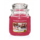 Lumanare Parfumata Borcan Mediu Frosty Gingerbread, Yankee Candle