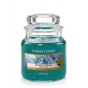 Lumanare Parfumata Borcan Mic Icy Blue Spruce, Yankee Candle