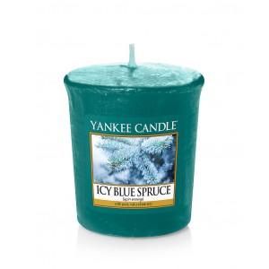 Lumanare Parfumata Votive Icy Blue Spruce, Yankee Candle