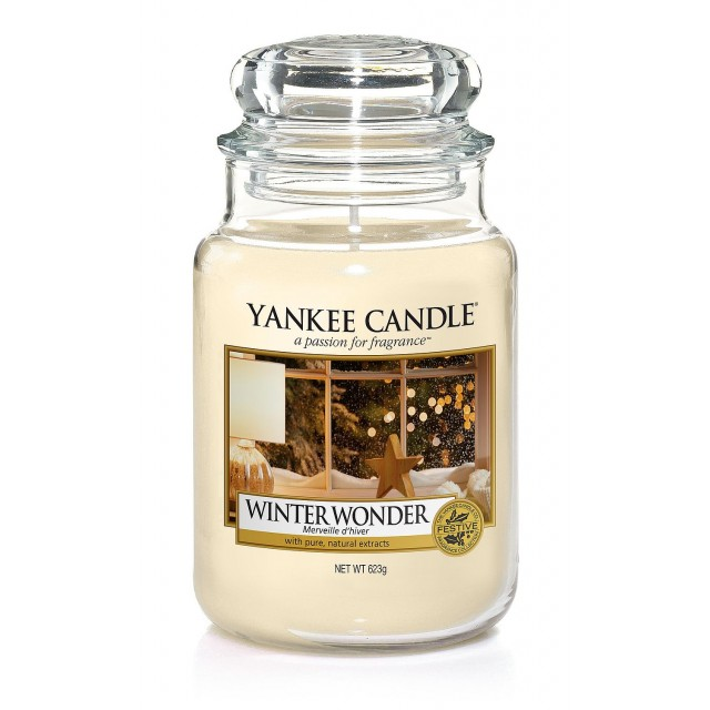 Lumanare Parfumata Borcan Mare Winter Wonder, Yankee Candle